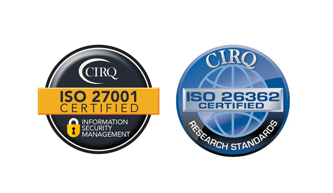 ISO Certified logos